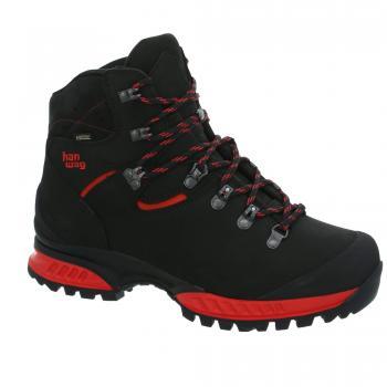 hanwag tatra ii gtx - black/red