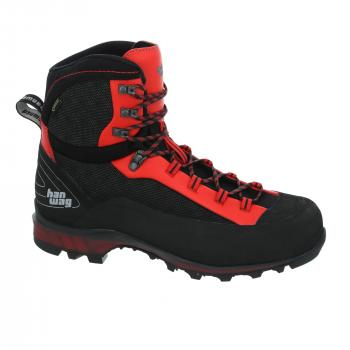 hanwag ferrata ii gtx - black/red